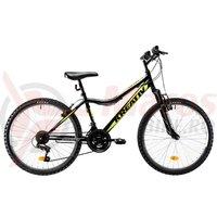 Bicicleta Kreativ 2404 neagra 2019