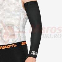 Incalzitoare Brate Exceeda Arm Sleeve Black Lycra Kits