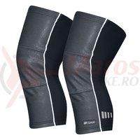 Incalzitoare genunchi Force Wind-X negre marime XL