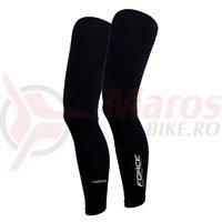 Incalzitoare picioare ForceTerm long negre