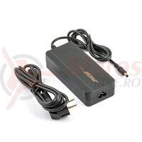 Incarcator baterie bicicleta Apache Power 36V / 2.0 A, conector 5.5mm, Atnen