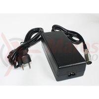 Incarcator CH02 36V 2.0A DC negru, TranzX f. baterie Li-Polymer, include cablu