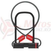 Incuietoare U Zefal K-Traz U13 cu cifru + cablu
