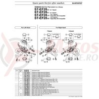 Indicator Shimano ST-EF28-8