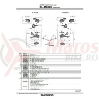 Indicator unit Shimano SL-M6000 dreapta