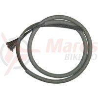 Interior derailleur cable .steel 2200 mm lg.,1,1 mm ?, Box w. 50 pieces