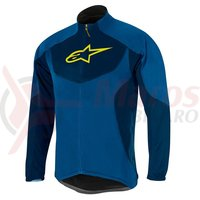 Jacheta Alpinestars Mid Layer bright blue/deep blue marime S