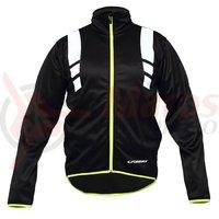 Jacheta ciclism CROSSER RS-588 negru/verde