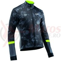 Jacheta de iarna Northwave BLADE Total Protection camo black/yellow fluo