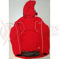 Jacheta de ploaie Shimano Performance pentru femei rosu/gri