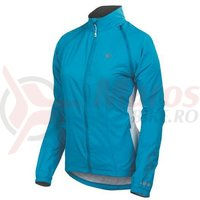 Jacheta elite barrier convertible femei Pearl Izumi ride/run blue