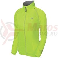Jacheta elite barrier convertible femei Pearl Izumi ride/run yellow