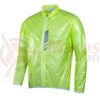 Jacheta Force Lightweight verde fluo Slim