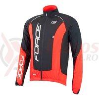 Jacheta Force X68 Pro maneci lungi negru/rosu