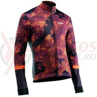 Jacheta Northwave winter Blade Total Protection camo orange/black