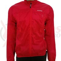 Jacheta Shimano hybrid windbreak red