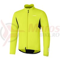 Jacketa windbreaker Shimano compact lime yellow