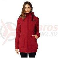 Jaketa Fox Metrick Jacket dark red