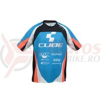 Jersey Cube Action Team Roundneck S/S blue´n´white´n´black