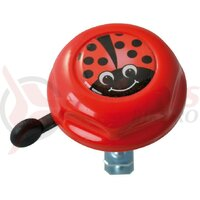 Sonerie copii lady bug Doming Label red 55mm