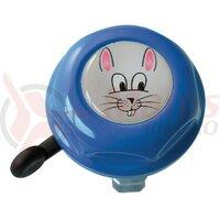 Sonerie copii Rabbit Doming Label blue 55mm