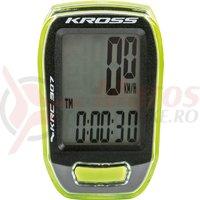 Kilometraj Kross KRC 307 7 functii green/black
