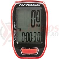 Kilometraj Kross KRC 307 7-functii red/black