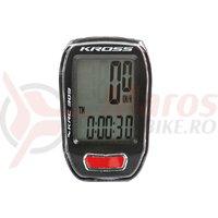 Kilometraj Kross KRC 309 9 functii wired black/red