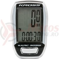 Kilometraj Kross KRC 309 9-functii wireless white/black