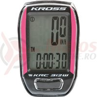 Kilometraj Kross KRC 312W 12-functii wireless black-pink