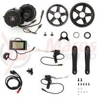 Kit bicicleta electrica cu motor central Apache Power BBS 26V / 250- 350 W
