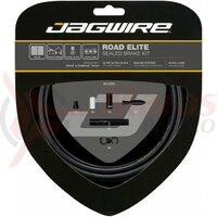 Kit bowden frana Jagwire Elite Race (SCK050) CSX / STS-EL, negru, 2200mm (include toate piesele necesare montarii)