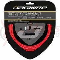Kit bowden frana Jagwire Elite Race (SCK052) CSX / STS-EL, rosu, 2200mm (include toate piesele necesare montarii)