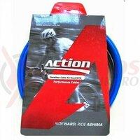 Kit bowden schimbator, Ashima Action AM-UDS-K1-KB-BU, SP, diam.4.2mm, albastru (include toate piesele necesare montarii) AM