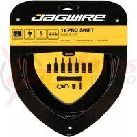 Kit bowden schimbator Jagwire 1 x Pro (PCK550) diam.4mm Lex-SL / STS-PS, negru, 2200mm (include toate piesele necesare montarii) AM