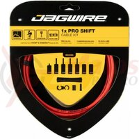 Kit bowden schimbator Jagwire 1 x Pro (PCK554) diam.4mm Lex-SL / STS-PS, rosu, 2200mm (include toate piesele necesare montarii) AM