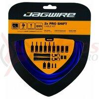 Kit bowden schimbator Jagwire 2 x Pro (PCK505) diam.4mm Lex-SL / STS-PS Pro Polished, albastru, 3200mm (include toate piesele necesare montarii) AM