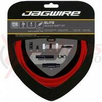 Kit bowden schimbator Jagwire Elite (SCK002) XEX / STS-EL, rosu, 3200mm (include toate piesele necesare montarii)