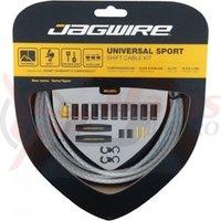 Kit bowden schimbator Jagwire Universal Sport (UCK222) diam.4,5mm Lex alb impletit 2700mm