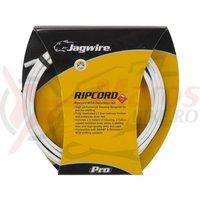 Kit bowden schimbator MTB Jagwire Ripcord diametru 4,5mm alb 2500mm