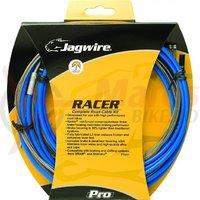Kit bowden schimbator+frana Jagwire Racer diam.4mm-5mm albastru 1700mm/1700 mm