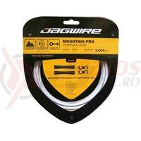 Kit conducta hidraulica Jagwire Mountain Pro (HBK402) Kevlar alb 3000mm