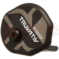 Kit Ghidaj lant inferior Truvativ 2x10 X-Guide alu,negru