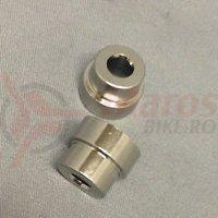 Kit mounting hardware Fox 2 piece 6mm mounting width 0.620 REF 213-26-017-F (12)