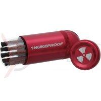 Kit Nukeproof de reparatii anvelope tubeless rosu