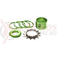 Kit single speed Reverse 13T verde