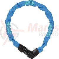 Lacat Abus Tresor 1385/75 albastru neon