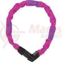 Lacat Abus Tresor 1385/75 roz neon