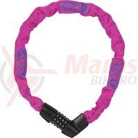 Lacat bicicleta Abus Tresor 1385/75 roz neon