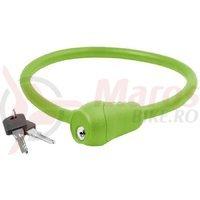 Lacat cu cheie 12x600mm verde S12.6S M-Wave